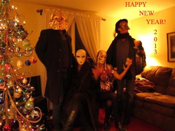 Happy New Year Masks
